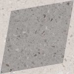 Rhombus Decor Grey