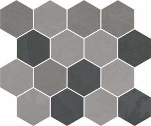 Expedition Mix Hexagon mosaic