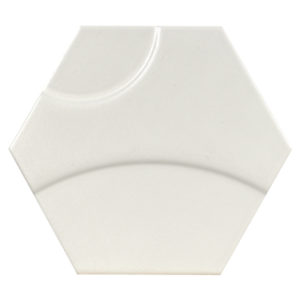 Intuition White Wave Decor